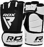 RDX MMA Handschuhe Profi Training, Rindsleder...