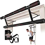 Sportstech 4in1 Klimmzugstange inkl Dip Bar & Power Ropes