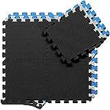 BeMaxx Schutzmatten Set Puzzlematte Bodenschutz...