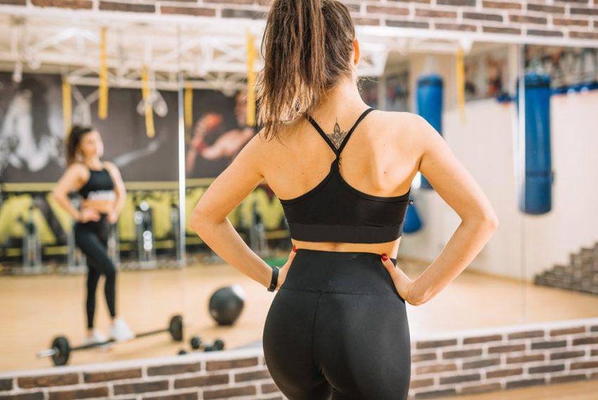 Gewichthebergürtel für Frauen
