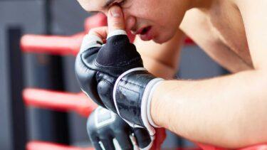 MMA Trainingshandschuh mit Daumenschutz